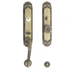 莱特国际 M-12ABM欧标 锌合金豪华大门锁 锌合金