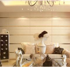 意德隆整合装饰 硬包客厅沙发背景墙 B001 定金