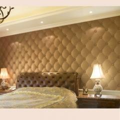 意德隆整合装饰   软包 卧室背景墙 B030 定金