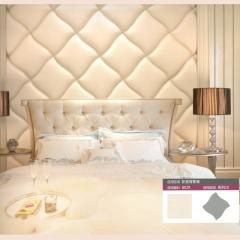 意德隆整合装饰  异形软包 卧室背景墙  B028 定金