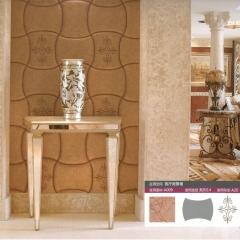 意德隆整合装饰 绣花软包  客厅背景墙 A009 定金