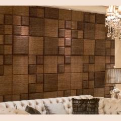 意德隆整合装饰   软硬结合  客厅沙发背景墙 A004 定金