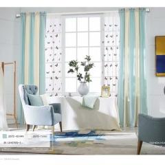 英阁来窗帘 现代色彩 卧室客厅阳台 定金