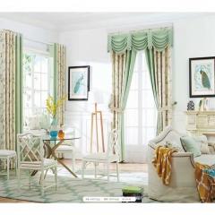 英阁来窗帘 可爱清新窗帘 成品定制均可 定金