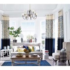 英阁来窗帘 现代欧式风格窗帘 成品定制均可 定金