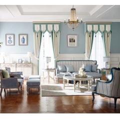 英阁来窗帘 现代简约风格窗帘   成品定制均可 定金