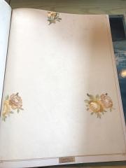 高档无缝绣花墙布 CHYT01-20 淡蓝