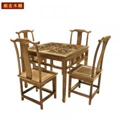 顺宏木雕仿古实木家具沙发座椅 图片色 实木 标准规格 订金