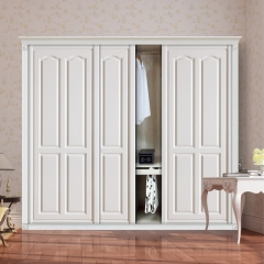 云木匠衣柜移门7 白色 实木 尺寸 订金