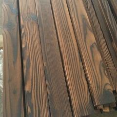 唐木条户外防腐木板材炭化木10*90碳化木木板葡萄架复古木方炭烧木艺术· 定金