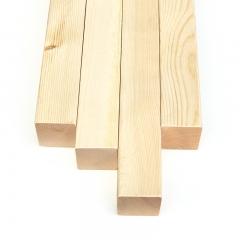 唐木条德丽斯木材48*48mm樟子松木条原木木方实木板材DIY原木料模型材料 定金
