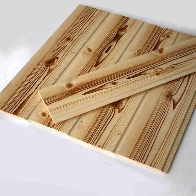 唐木条桑拿板扣板防腐木赤松拉丝内墙板碳化木防水免漆吊顶木板