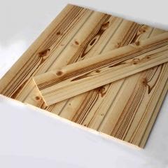 唐木条桑拿板扣板防腐木赤松拉丝内墙板碳化木防水免漆吊顶木板 定金