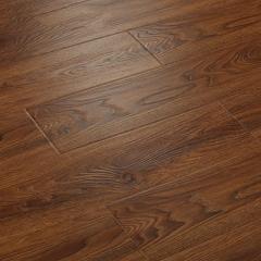 唐木条强化复合地板12mm家用卧室个性复古防水地暖仿实木地板BS-8902仿古手抓纹 ㎡