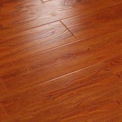 唐木条强化复合地板12mm家用卧室个性复古防水地暖仿实木地板BS-8903仿古手抓纹 ㎡
