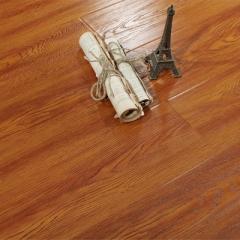 唐木条强化复合地板12mm家用卧室个性复古防水地暖仿实木地板SN916-深柚木色 ㎡