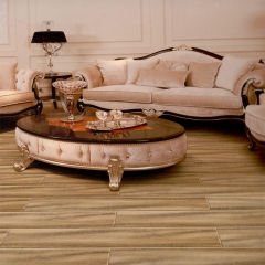 富贵鸟地板橡木同步拉丝亚光面实木地板FGN623 ㎡