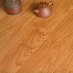 富贵鸟地板大模压亮面红柚木亮面实木地板FGN715 ㎡