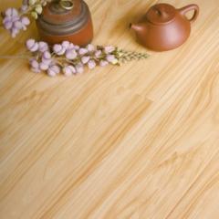 富贵鸟地板大模压亮面白桦木亮面实木地板FGN702 ㎡
