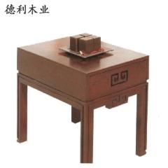 德利木业 家具系列  JH-002  中式桌子 仿古 图片色 咨询客服 JH-002 定金