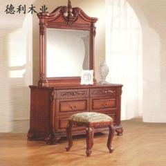 德利木业  家具系列 JH-010 梳妆台  仿古家具 图片色 咨询客服 JH-010 定金
