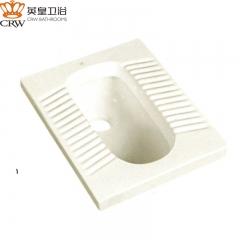 英皇卫浴 蹲便器蹲坑蹲厕便池防臭大便器 YH-3008直冲