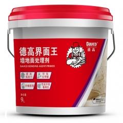 德高界面王墙地面处理剂 环保墙固界面剂 混凝土界面处理剂 9L