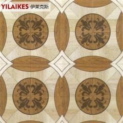 伊莱克斯地板实木拼花地板艺术柚木 810*405*7