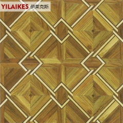 伊莱克斯地板实木拼花地板曲柚木 1225*405*5