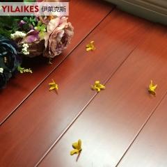 伊莱克斯地板实木地板光面地板红檀飘香 813*153