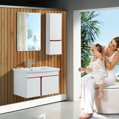 法恩莎 浴室柜组合 挂墙式卫生间浴室洗漱台0.7米浴柜FPG3649A