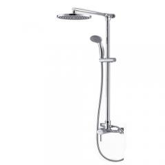 FAENZA法恩莎单把挂墙式明杆双功能精铜淋浴花洒套装F3M8181C-B