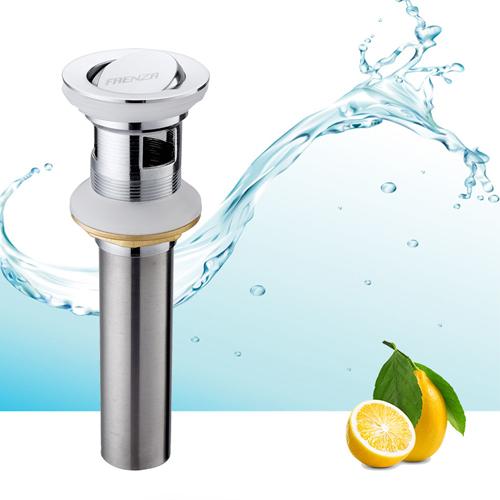 法恩莎 浴室柜配件翻版下水器落水器排水器防臭翻板去水器铜F2