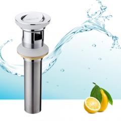 法恩莎 浴室柜配件翻版下水器落水器排水器防臭翻板去水器铜F223