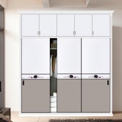 泉顺居家整体家居衣柜 LX-1765 半隐黑框现代工艺 图片色 咨询客服 可定制 定金
