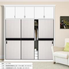 泉顺居家整体家居衣柜 LX-1783 高端隐形框现代工艺 图片色 咨询客服 可定制 定金