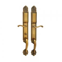 名门静音门锁EL23黄古铜