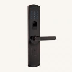 名门静音门锁指纹锁EZ0606黑古力 EZ0606黑古力