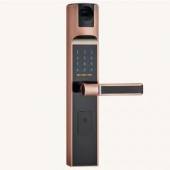 名门静音门锁指纹锁EZ0707贵族金 EZ0707贵族金