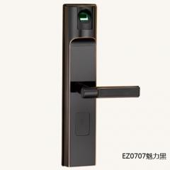 名门静音门锁指纹锁EZ0707魅力黑 EZ0707魅力黑
