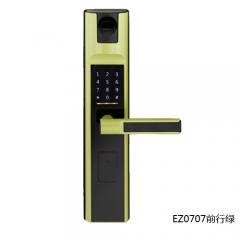 名门静音门锁指纹锁EZ0707前行绿 EZ0707前行绿