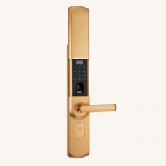 名门静音门锁指纹锁EZ0606A香槟金 EZ0606A香槟金