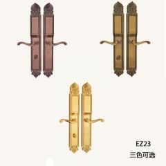 名门静音门锁指纹锁EZ23 黄古铜