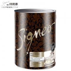 Signeo德国进口诗珑漆 锦匠柔光纯环保内墙乳胶漆涂料 W 2.5L 2.5L