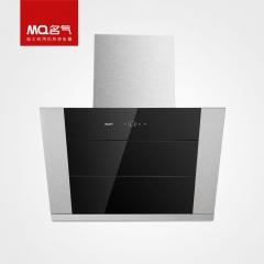 MQ名气 307C黑晶玻璃侧吸式油烟机 金转轴十二万次开合