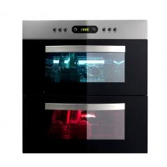 MQ名气 520消毒柜 全景可视窗 双层消毒碗柜 高低温组合消毒柜