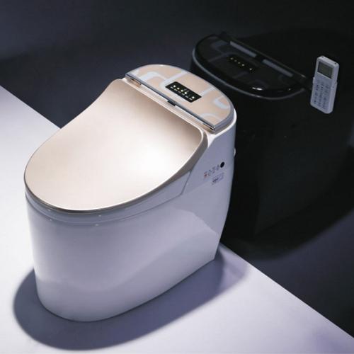 智能马桶一体式坐便器全自动马桶盖智能冲水烘干座便电动一体AR