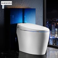 惠达卫浴全自动一体式家用智能马桶遥控电动冲洗烘干坐便器