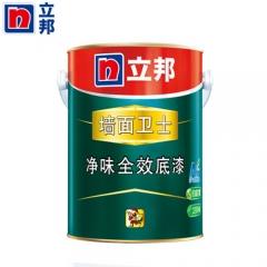 立邦漆 净味全效底漆墙面卫士 乳胶漆内墙漆环保白色内墙涂料5L 5L/桶