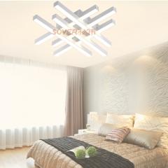 松伟照明  明洁系列   LED时尚创意客厅吸顶灯简约大气餐厅灯温馨卧室灯 XD-36W